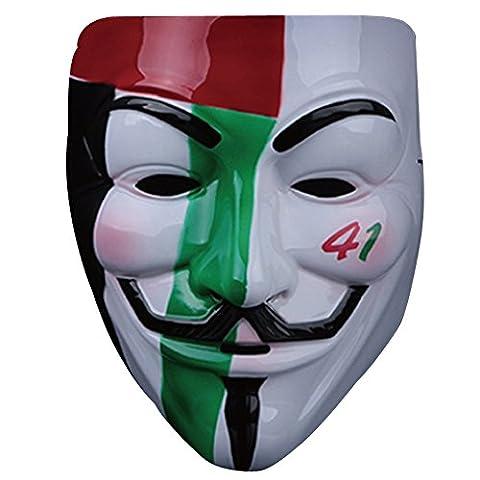 Costumes De Luxe Pour Homme Halloween - Masque Anonymous,Guizen Masque de Guy Fawkes (V