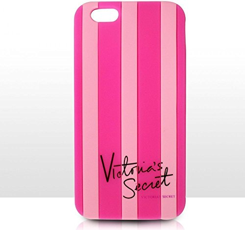 Victoria' s Secret Striped per iPhone 5 5S e iPhone 6, Pink, Iphone5