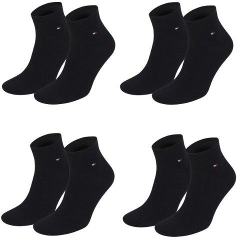 Tommy Hilfiger unisex Quarter Socken 4er Pack