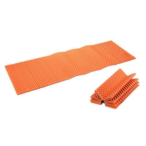 Twinklings pieghevole schiuma impermeabile dampproof mat materassino in tenda per outdoor campeggio trekking, orange