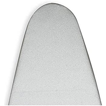 Homespace Silver Heat Reflective Ironing Board Cover with Extra Thick 5 mm Foam and 5 mm Felt Pad (Length 122-124cm and Width 38-40cm)