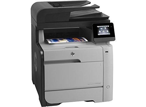 HP MFP M476dn Color LaserJet Pro Farblaserdrucker (Drucken, scannen, kopieren, faxen, 600x600 dpi, USB 2.0, Duplex) (ML) grau/schwarz (Zertifiziert und Generalüberholt) - 15-ppm-laserdrucker