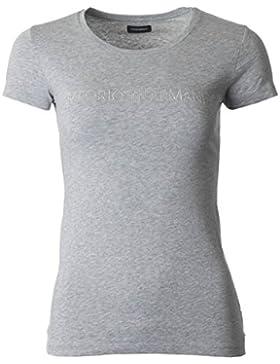 Emporio Armani T-Shirt Camiseta Mujer Manga Corta ArtãCulo 163139 8P263