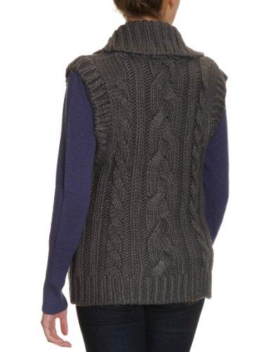 Quiksilver veste en tricot cozy cable Gris - charcoal