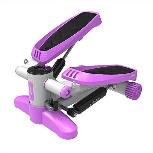 Bicicleta de spinning máquina de pasos Goodvk-deportiva con cintas de entrenamiento paso a paso Rosa...