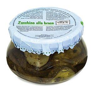 Casa Rinaldi Zucchine alla brace/Zucchini gegrillt in Öl