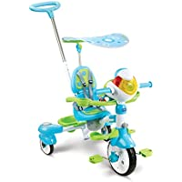 VTech - 196805 - Super Tricycle Interactif 6 en 1 - Bleu