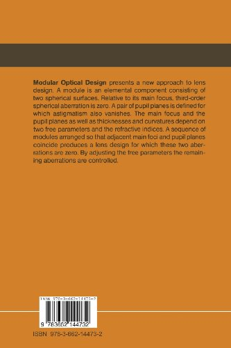 Modular Optical Design: Volume 28 (Springer Series in Optical Sciences)