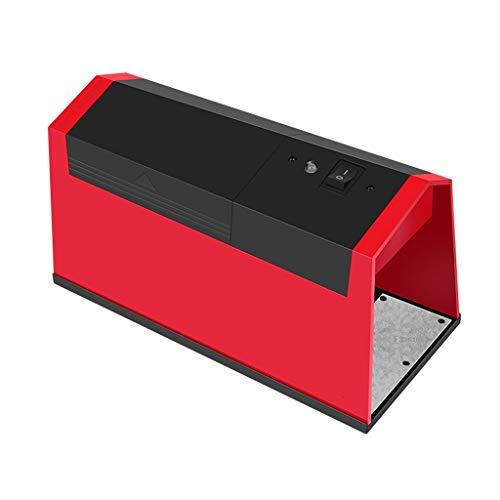 BingWS Effiziente Mausefalle Automatisches automatisches Mausefallen-Artefakt für den Hausgebrauch bei kontinuierlichem Capture-Maus-Artefakt Jagdzubehör (Color : Red)