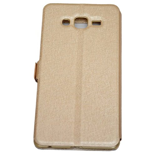 low priced 0df28 f536a 68% OFF on nCase Flip Cover - Window for Samsung On7 Pro (Gold) on ...