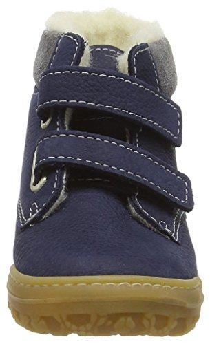 Ricosta Malis, Baskets Basses Mixte Enfant Bleu - Blau (see 175)