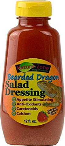 Nature Zone Salad Dressing for Bearded Dragons 12oz by Nature Zone