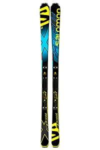 Pack ski Salomon X Race + Race Plate XX avec fix Salomon Z12 S Speed Black Yellow S75 - 165