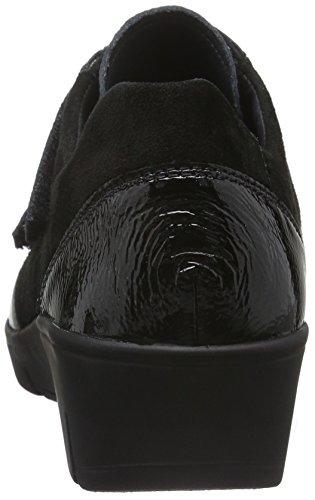 Semler Damen Judith Velcro Sneakerss Schwarz (001 schwarz)