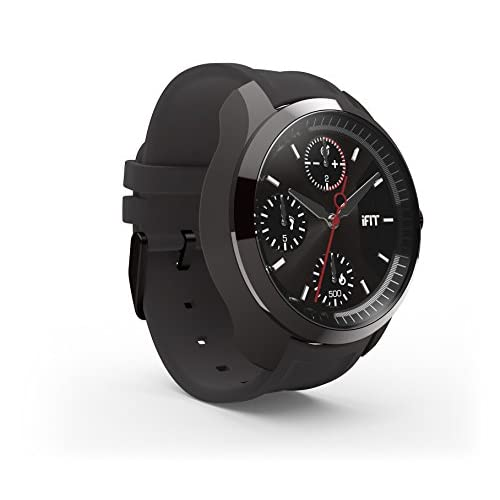 41MvVxj%2BV6L. SS500  - IFit Classic Watch Activity and Sleep Tracking - Black/Graphite