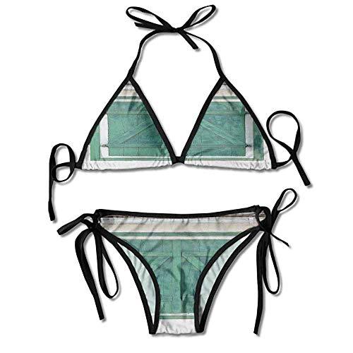 Halter Fashion Sexy Bikini,Shutters Image Traditional Farm Sexy Bikini 2 Pieces -