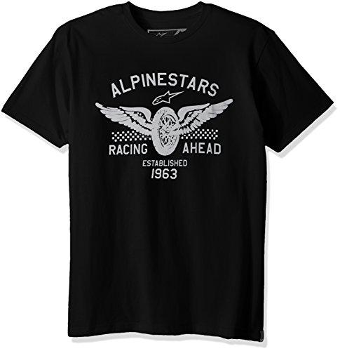 Alpinestars Herren T-Shirt Landspeed Heritage Modern Fit Short Sleeve Schwarz