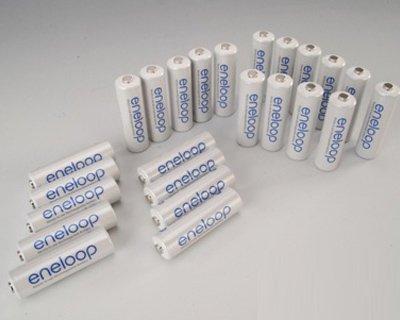 48x Sanyo Eneloop Micro AAA Akku Akkus 800mAh 800 mAh Batterie Batterien - Batterien Aaa 48