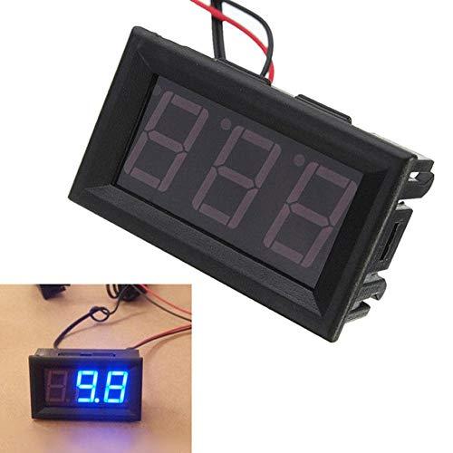 Medidor temperatura digital pantalla LED 12 V -50