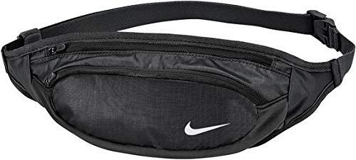 Nike Sportax Grande contenance Waistpack – Os, Noir/Noir/Argent