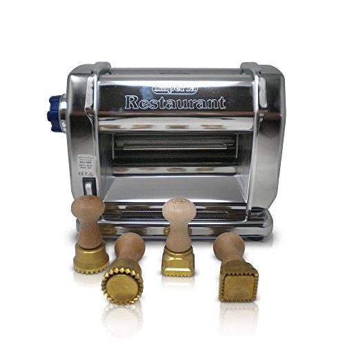 Imperia Bundle 2-Máquina para la pasta eléctrica profesional acero, sfogliatrice eléctrica robusta...
