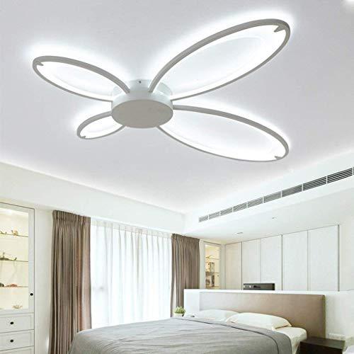 ZHYZN Thing Gas Anhänger Moderne Original Licht Decke Acryl Integratliving Zimmer Schlafzimmer Küche Hotel 4-Kopf,Weißes Licht -