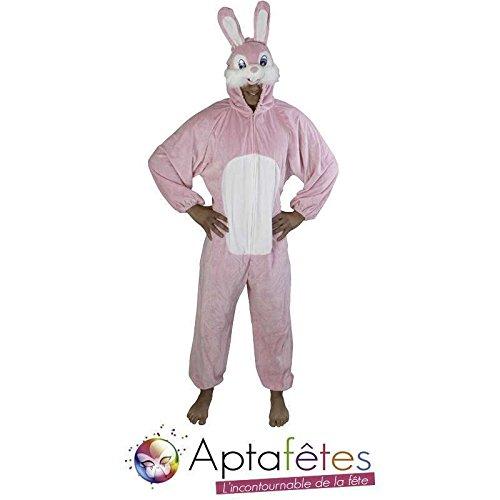 Kostüm Plüsch-Hase toon 180 cm, (De Kostüm Adulte Lapin)