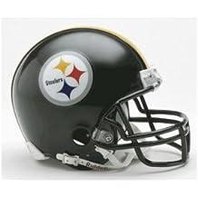 Pittsburgh Steelers Miniature Replica NFL Helmet w/Z2B Mask