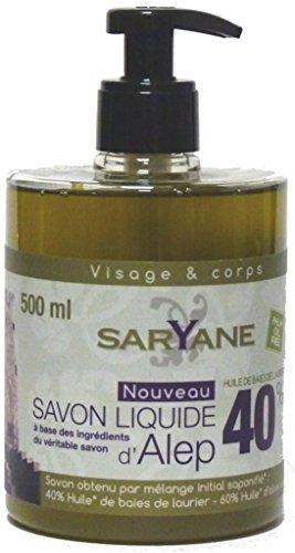 aleppo-oliven-und-lorbeerol-flussigseife-500ml-mit-spender-pumpe-parfumfrei-sehr-trockene-empfindlic