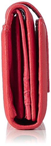Liebeskind Berlin - Leonieh7 Core, Portafogli Donna Rosso (Striped Red)
