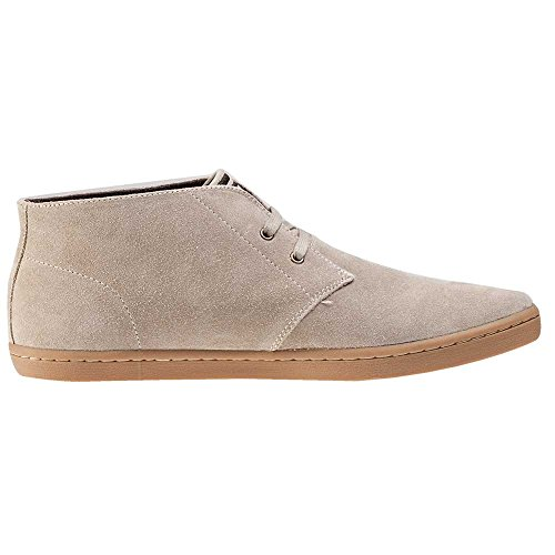 Fred Perry Byron Mid, Bottes pour Homme Beige