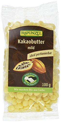 Rapunzel Kakaobutter mild HIH, 3er Pack (3 x 100 g)