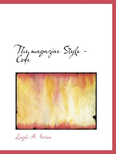 The magazine Style - Code
