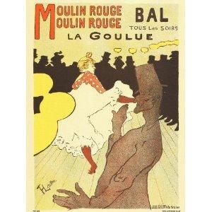 onthewall Art Nouveau Kunstposterdruck von Henri de Toulouse–Lautrec Moulin Rouge PDP 030