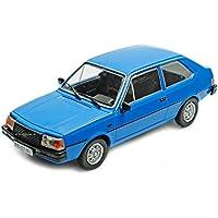 Volvo 343 blau Modellauto in Vitrine Atlas 1:43