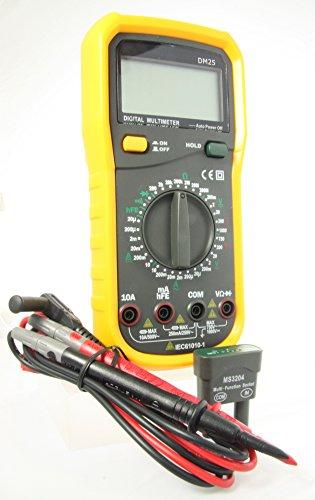 Preisvergleich Produktbild Rapitest DM25–Multifunktionale Elektrische Multimeter.