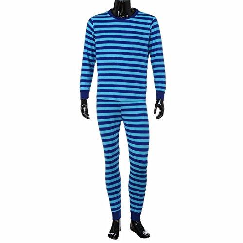 Upxiang Familie Matching Weihnachten Pyjamas Set, Gestreifte Bluse + Hosen, Herren Frauen und Kinder, Daddy Mama und kleine Baby Match Family Pyjamas (XL, (Familie Kostüme Story Toy)