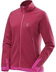 Haglöfs Damen Stretch Fleece Jacke Bungy II Jacket Women S15