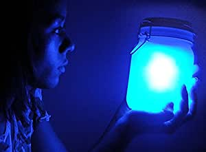 Doiy Solarlampe Sun Jar - blue [W]
