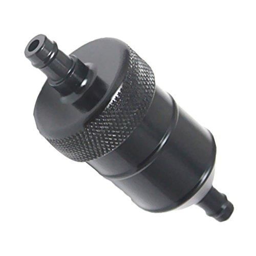 MagiDeal Kraftstofffilter Benzinfilter 8mm Universal für Motorrad - Schwarz