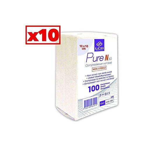 compresses-en-non-tiss-non-striles-30-grammes-10x10-cm-carton-de-10-paquets-de-100-n30-100-10
