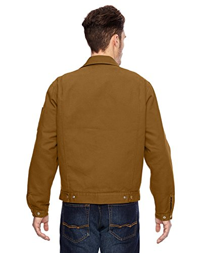 Dickies-LJ539-Giacca in tela da uomo Brown Duck