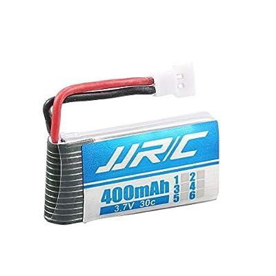 Original JJR/C 3.7V 400mAh 30C Lipo Battery Charger for H31 T6 H98 RC Drone - Black