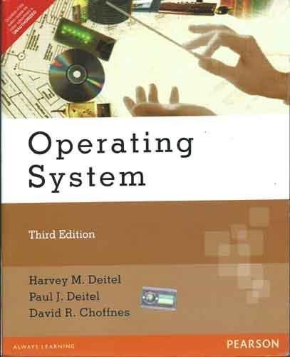 Operating System, 3e