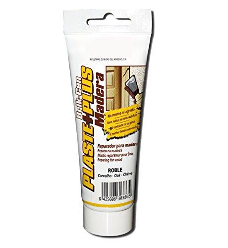 Quiadsa 52502236 Plaste+Plus Emplaste Masilla para Madera Blanco