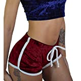 Mitlfuny Frauen Damen Hose Mode Hot Pants,Damenmode Mitte Taille - Alter Damen Sexy Bouncy Ball Hot Pants Enge Shorts