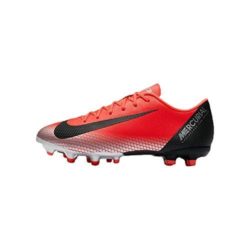 Nike Unisex-Kinder Vapor 12 Academy Gs CR7 MG Fußballschuhe, Rot (Bright Crimson/Black-Chrome-DA 600), 36 EU - Fußball Vapor Nike