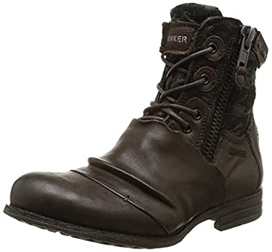 Bunker Paz, Boots femme - Marron (Moro), 37 EU