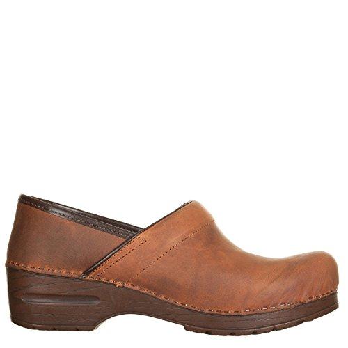VialeScarpe  Sas-7488vtcu_36, Chaussures de ville à lacets pour femme marron cuir 36 cuir