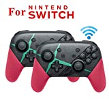 MeterMall Elektronik für NS Switch Pro Splatoon2 Xenoblade Bluetooth Wireless Gamepad Remote Controller Joypad für Nintend Switch Game Player Konsole Joystick Xenoblade 2 Stück